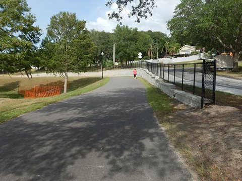 Florida biking, Orlando, Lake County, South Lake Trail