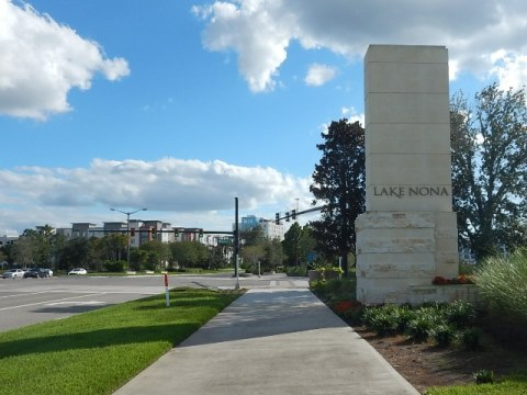 Lake Nona, Orlando biking