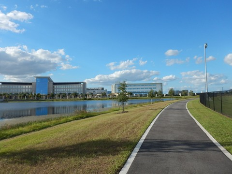 Lake Nona, Orlando, Orange Couny, FL bike trail